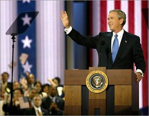 George Bush Accepting 2004 Nomination